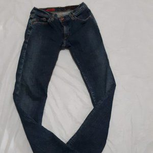AG Adriano Goldschmied Blue 'the stiletto' Jeans